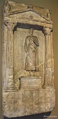 Grave stele of Dionysios (Merja Attia) Tags: gravestele hellenistic sidon sayda lebanon istanbularchaeologymuseums istanbul turkey museum archaeologicalmuseumistanbul