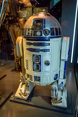 Star Wars Identities Nov 2016 - 3793.jpg (DavidRBadger) Tags: r2d2 movies exhibition artoodeetoo starwarsidentities props sf droid artoo o2 starwars costumes film scifi