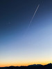 deLight (MaxSkyMax) Tags: sunset merano 2000 metres mountain italy panorama bistrot panoramabistrot moon stripes silhouette planes bluehour