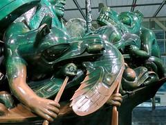 YVR Vancouver International Airport (Mariko Ishikawa) Tags: canada britishcolumbia richmond airport yvr firstnations totempole art sculpture