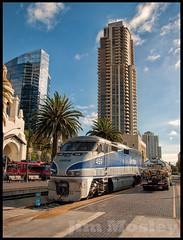 _DSD8110 (saltley1212) Tags: san diego california amtrak 459 f59phi tram 1002 1011 santa fe