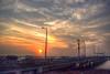 Sunset (Debatra) Tags: mumbai sunset bombay maharashtra sun skyporn sky clouds india traffic worli worliseaface bandraworlisealink 1855 1855mm landmark d3300 nikon nikkor evening hdr highdynamicrange bracketing manualbracketing handheld