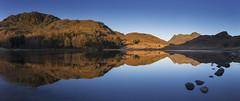 Blea Tarn and the Langdale Pikes. Lake District National Park, Cumbria. (info@simonboothphotography.com) Tags: destination land landform landscape landscapes natural picture picturesque scene scenery scenes scenic scenics tourism travel view vista