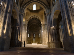 Old cathedral (Paco CT) Tags: church construccion construction escenario gente iglesia inside interior lleidaseuvella people indoor one place scenary uno lleida spain esp pry light gothic cathedral architecture religion catholic pacoct 2016
