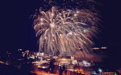 Neujahrsfeuerwerk Katschberg 01.01.2017