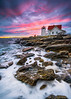 Hendricks Head Lighthouse (BenjaminMWilliamson) Tags: boothbay coast gifts hendrickshead image island landscape lighthouse me maine newengland ocean photography prints private rocks rocky scenery scenic sea seascape sky southport sunset surf waves