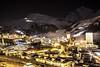 sestrierebynight (ssarina124) Tags: sestriere piemonte piedmont italia italy montagna mountain sky sci sciare via lattea night pano panorama city sestrieres