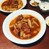 Spareribs simmered with daikon radish (DigiPub) Tags: サラメシ ランチ スペアリブ 京華樓 排骨 ribs spareribs daikon radish lunch yokohama