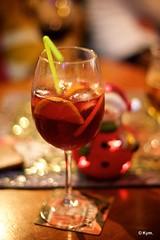 Sangria (Kym.) Tags: andalucía andalusia candle glass nerja sangria santa spain tealight wineco day8