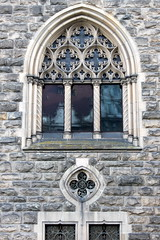 moszna castle window (kexi) Tags: poland polska europe moszna castle palace window reflection vertical canon november 2015 symmetry instantfave