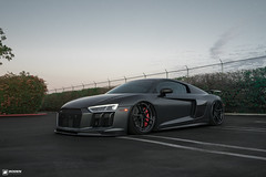 Boden Audi R8 v10 Build 2016 | Boden Autohaus (Boden Autohaus) Tags: audi r8 v10 plus bagged accuair boden bagsbyboden bodenautohaus audir8 rotiform