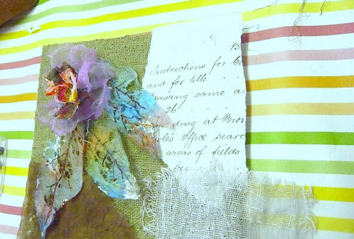 Creating with Fusible, Fragile Fabrics & Threads