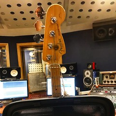 Heads or Tails (Pennan_Brae) Tags: precisionbass headstock electricguitar electricbass fenderbass musicstudio 4string musicalinstrument instrument recordingsession recordingstudio bassguitarist music recording bassist bassguitar fender