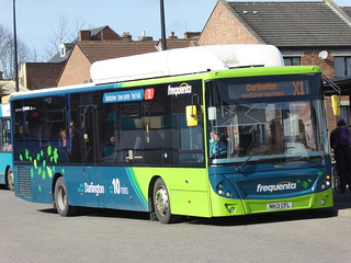 Arriva North East: 4806 NK13CFL (Frequenta 2 Branded) MAN 18.270 EcoCity / Caetano