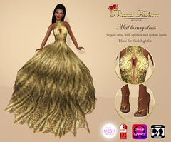 MEIL LUXURY DRESS - L$ 150 (princessfashion100) Tags: life mesh body spirit interior omega free sl second hunter marketplace breathe uber banned tmp lolas reign freebie slink bellza ryca dollarbie kitja pinkfuel wasabipills lelutka appliers labelmotion