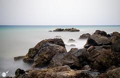 Frozen Ocean (Robert Stienstra Photography) Tags: ocean longexposure travel sea seascape landscape seaside seascapes fuerteventura atlantic coastal filter atlanticocean landschappen ndfilter landscapephotography nd8 tamron18200mm longexposurephotography