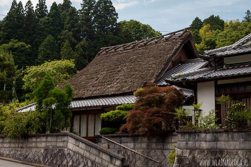 Tradycyjny dom kryty strzechą
