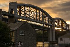K3__7307.jpg (screwdriver222) Tags: bridge england clouds sunrise river dawn cornwall pentax unitedkingdom plymouth rail devon suspensionbridge tamar k3 brunel saltash roadbridge royalalbertbridge tamron2875f28xrdi saltashpassage