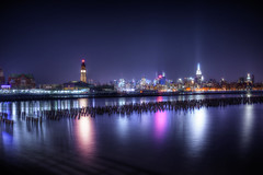 Hoboken, NJ and New York City (mudpig) Tags: nyc newyorkcity ny newyork reflection station ferry night skyscraper train river photography pier newjersey jerseycity cityscape manhattan nj terminal midtown newport timessquare esb license hudsonriver empirestatebuilding chryslerbuilding hdr hoboken horizonte lackawanna gettyimages nuevayork orizzonte  royaltyfree  cidadedenovayork mudpig stevekelley    linhadohorizonte lignedhorizon ufukizgisi      thnhphnewyork   kakilangit   lavilledenewyork stevenkelley chntri  sylwetkanatlenieba  licensenow    latarlangit
