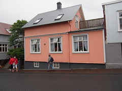 This is how a normal house look like in Reykjavik! Its also The same in The rest of Scandinavia and other. Destinations in The arctic!