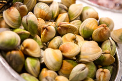 Clams (ranzino) Tags: nyc newyorkcity ny newyork chelsea unitedstates seafood clams chelseamarket stafftrip