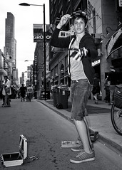 Toronto Buskerfest 2015 (thelearningcurvedotca) Tags: street city light portrait urban blackandwhite toronto ontario canada art public monochrome festival pose fun outdoors person photography photo blackwhite cool downtown artist foto noiretblanc live performance scene canadian event entertainment photograph actor entertainer busker performer busking buskerfest 2015 yongest iamcanadian bwemotions torontoist blackwhitephotos bej true2bw torontostreetcandids cans2s blackandwhiteonly bwartaward discoveryphotos yourphototips briancarson blogtophoto thelearningcurvephotography wwwthelearningcurveca