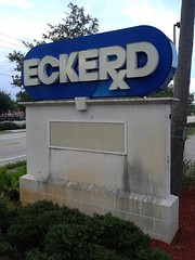 Eckerd Forever After (Albertsons Florida Blog) Tags: old building abandoned sign logo sebastian florida empty pharmacy former drugstore eckerd cvs unused indianrivercounty