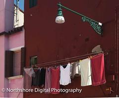 Burano 3 (Tony Reynes) Tags: pink red italy white island underwear maroon brightcolors burano