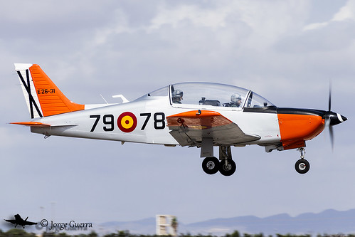 España - Ejército del Aire E.26-31 / 79-78 Enaer T-35 Pillán