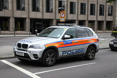 BX61EJG / CBG Bmw X5 Metropolitan Police Armed Response Unit (Ian Press Photography) Tags: london cars 4x4 police bmw service met emergency metropolitan cbg services response unit armed 999 x5 arv bx61ejg