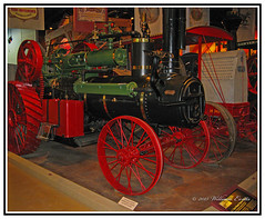 View FULL SIZE for Detail - Mechanical History - Chase Steam Traction Engine. (Bill E2011) Tags: canon mechanical farming case steam plough locomotion flywheel propelled robust farmhaulage steamengineself