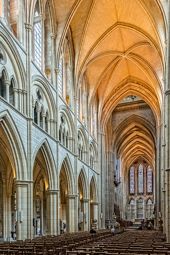 Truro Cathedral: the nave