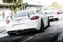 Porsche Cayman GT4 (*AM*Photography) Tags: auto white nikon automobile european special exotic german porsche boxer spotted cayman exclusive supercar sportscar gt4 autodromo monza topgear d3200 worldcars gtcup