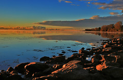 LEMP Sunrise 10-17-15 059 (OUTLAW PHOTO) Tags: sunrise lakeerie scenics landscapephotography canonlenses canonphotography outdoorphotography michiganoutdoors lakeeriemetropark waynecountyparks canon6d michigandnr waynecountymichigan waterwinterwonderland outlawphoto longexposerphotography lempsunrise101715