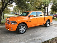2015 Ram Sport Crew (Smalltowntx87) Tags: new orange 6 beautiful leather sport texas 4x4 cab gorgeous pickup automotive semi vehicles crew american seats dodge plus trucks ram brand 1500 dealership sunroof horsepower iphone 2014 2015 6s