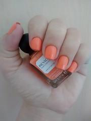 Revlon - Apricot Nectar (villasboas.lorena) Tags: orange coral nail laranja peach polish revlon esmalte
