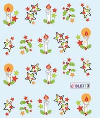 BLE113 (Jasmeet.k) Tags: santa christmas xmas tree art water nail slide musical decal transfer nailart bombastic
