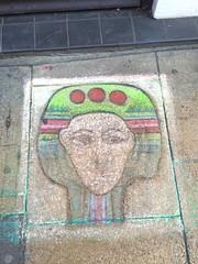 On the street Worcester UK (Duckwailk) Tags: art tony chalkartchalk