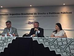 Edgard Hermelino Leite Junior moderou a mesa de debates sobre infraestrutura
