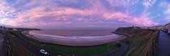 Photo of Fabulous evening sky, Scarborough.