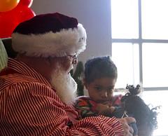 Lele Sabotaged the Santa Shoot (Immature Animals) Tags: winter wonderland leilani