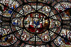 Lincoln Cathedral (richardr) Tags: old city uk greatbritain england english heritage history church window glass europe european cathedral unitedkingdom britain 19thcentury victorian stainedglass historic lincolnshire victoriana lincoln british europeanunion chapterhouse midlands nineteenthcentury rosewindow lincolncathedral themidlands