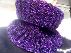 303/365 Purple cowl