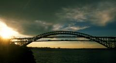 Bayonne Bridge 9 (stevensiegel260) Tags: bayonnebridge newyork steelarch statenisland killvankull sunset twilight navigationclearanceproject raisetheroadway