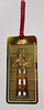 Metallic bookmark (tengds) Tags: bookmark metallicbookmark cross gold tengds