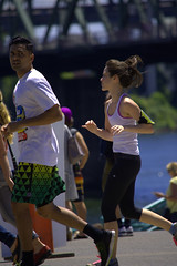 Joggers (swong95765) Tags: people running jogging woman female guy exercise fitness
