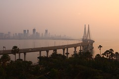 Sealink sunset, Bombay (NovemberAlex) Tags: bombay light colour india sunset water