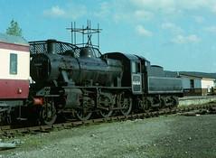 46464 15/05/1981 (Woolwinder) Tags: ivatt260 46464 lmsr crewe highlandrailway strathspeyrailway boatofgarten speyside invernessshire scotland