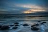 Last Light at Bowling Ball Beach (dezzouk) Tags: california bowlingballbeach schoonergulch pointarena sunset