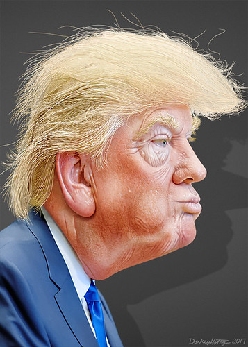From flickr.com: Donald Trump- Caricature {MID-134060}